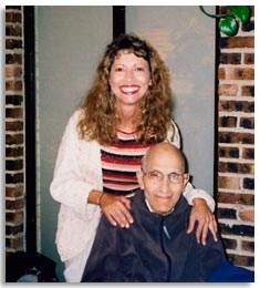 Senior Care Manager, Nancy Tuzzolino, and her dad